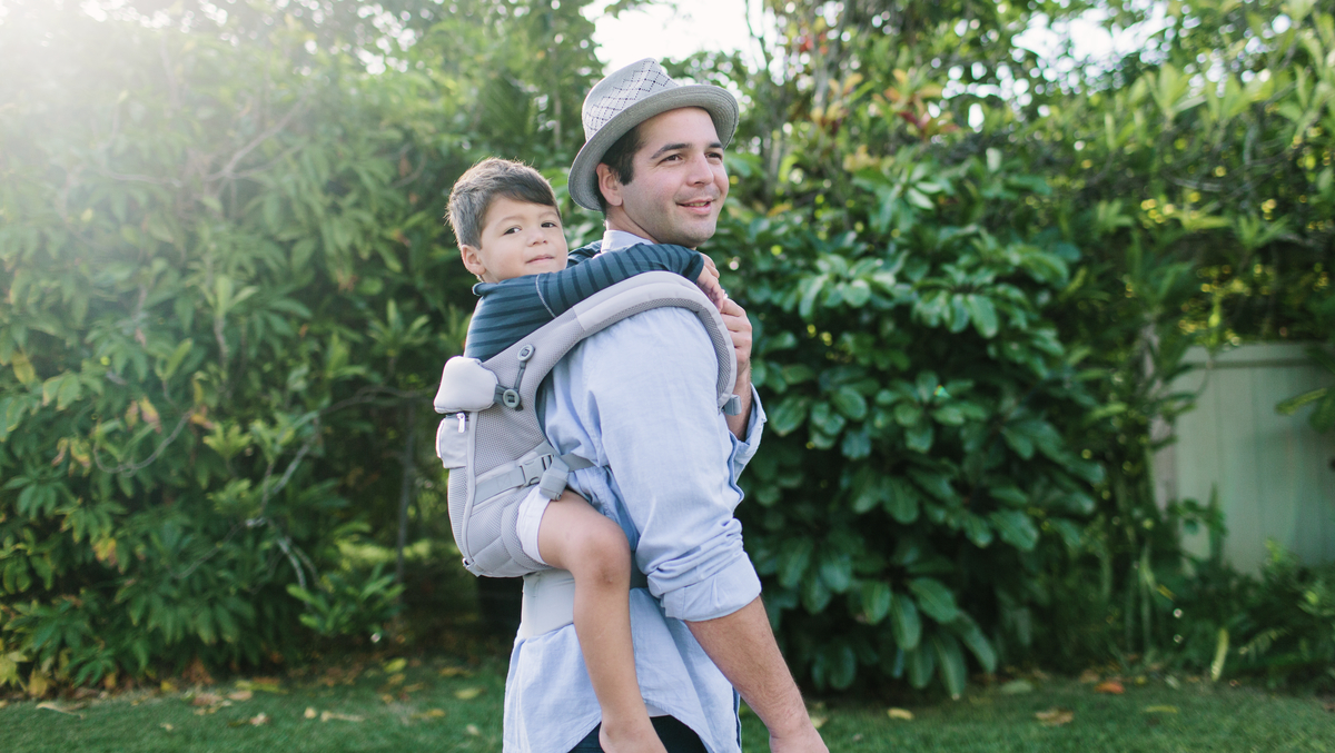 Carrying Baby In Back Ergobaby Blog