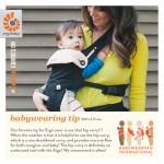 Babywearing Tip Hip Carry