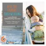 February Ask the expert: Babywearing