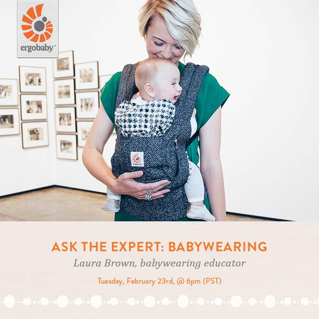 Ask the Expert: Babywearing