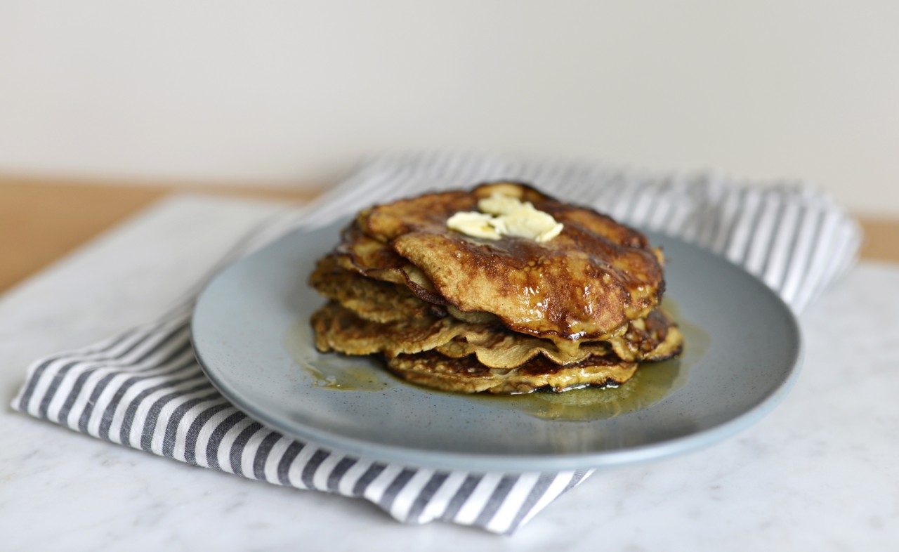 Simple Banana Pancakes For Baby