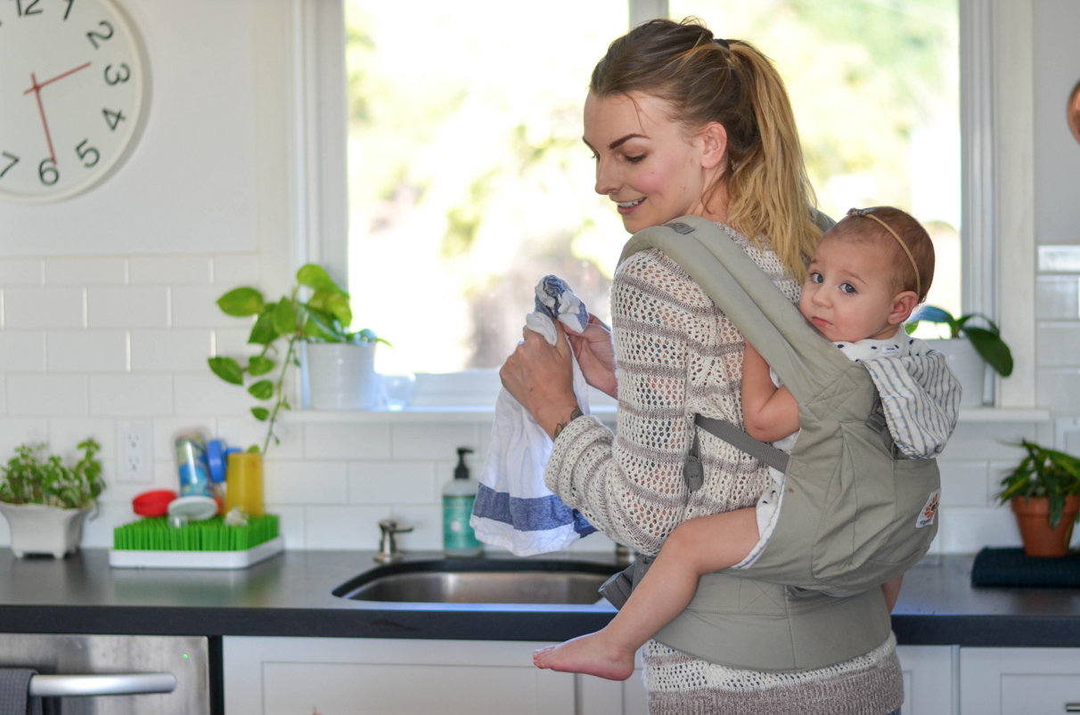 Tips for Babywearing And Cooking