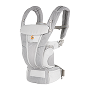 Omni Breeze Baby Carrier: Pearl Grey