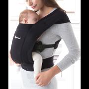 Ergobaby Embrace Newborn Carrier: Pure Black