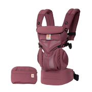 Ergobaby Omni 360 baby carrier all-in-one: Cool Air Mesh - Plum