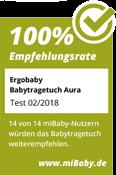mibaby_Testsiegel_Ergobaby_Babytragetuch_Aura