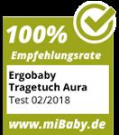 Ergobaby Tragetuch Aura Empfehlung mibaby
