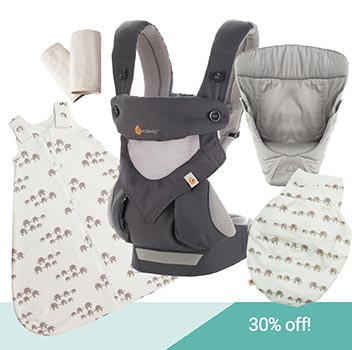 Ergobaby Newborn Bundle - 30% off