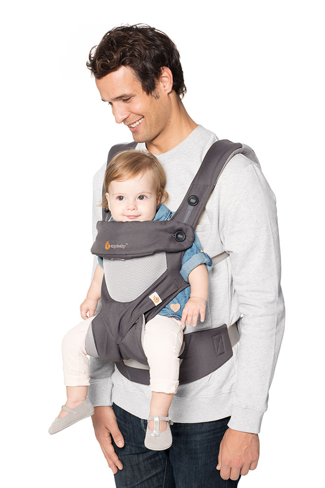 360 Cool Air Mesh Baby Carrier