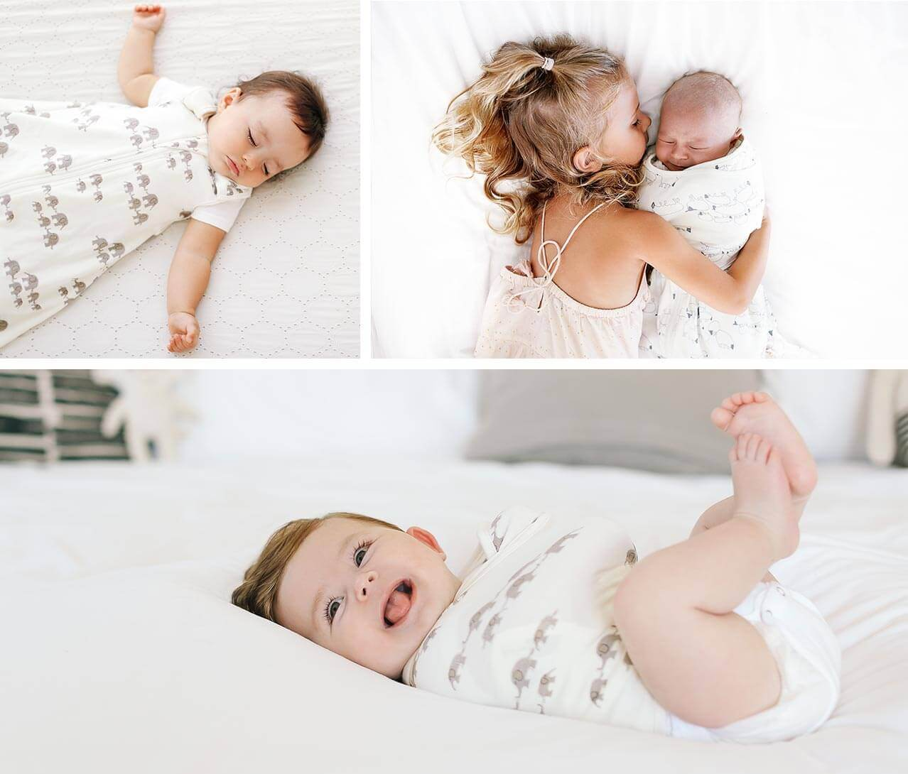 Ergobaby Sleeping Bag + Swaddle Set