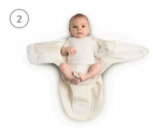 Ergobaby Swaddler - Usage Step 2
